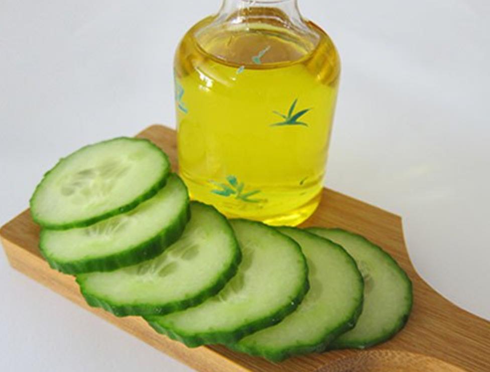 pepino aceite oliva