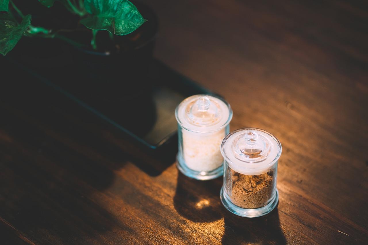 Exfoliante a base de azúcar y café