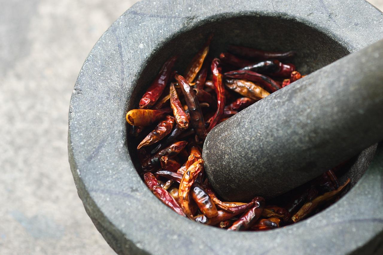 Remedio con pimienta de cayena