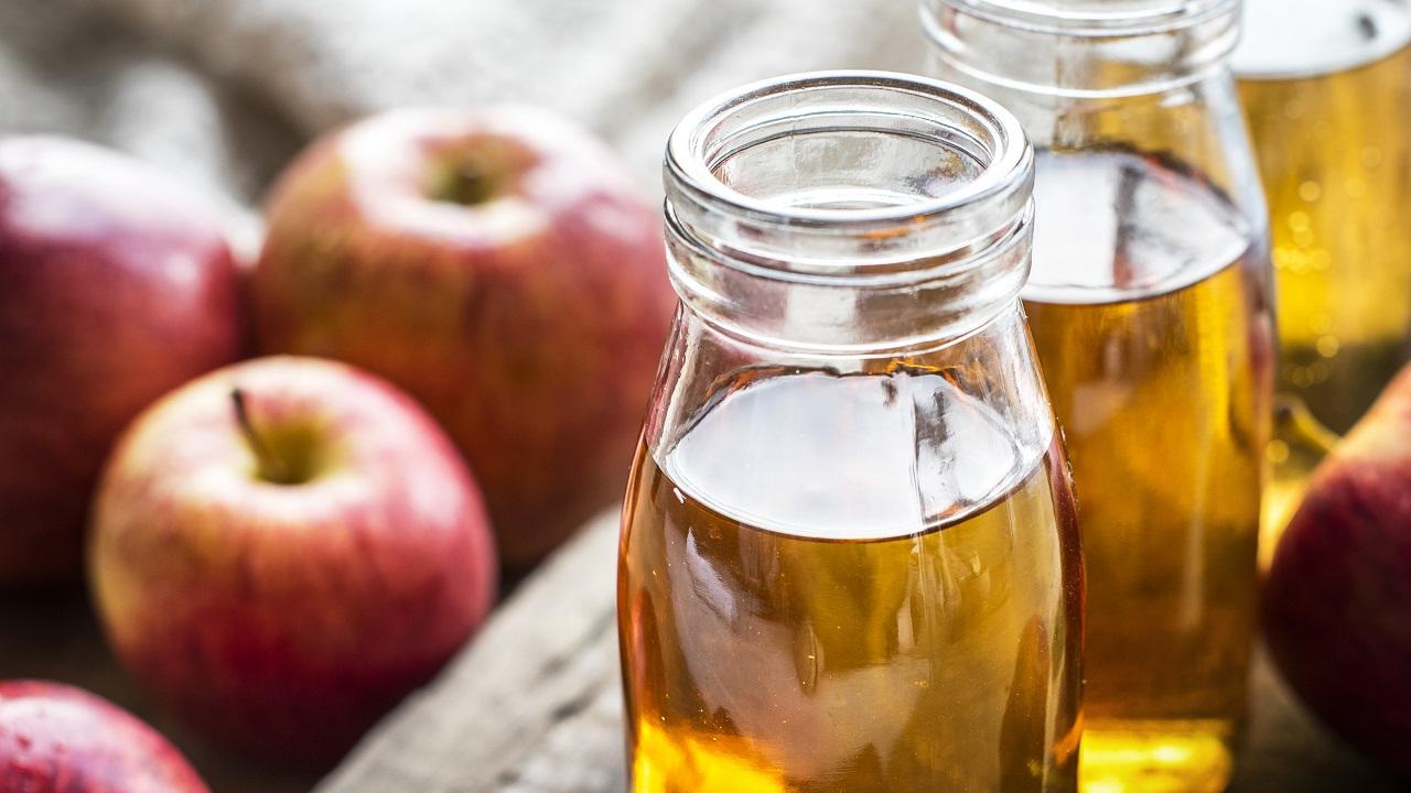 Remedio oral a base de vinagre de manzana