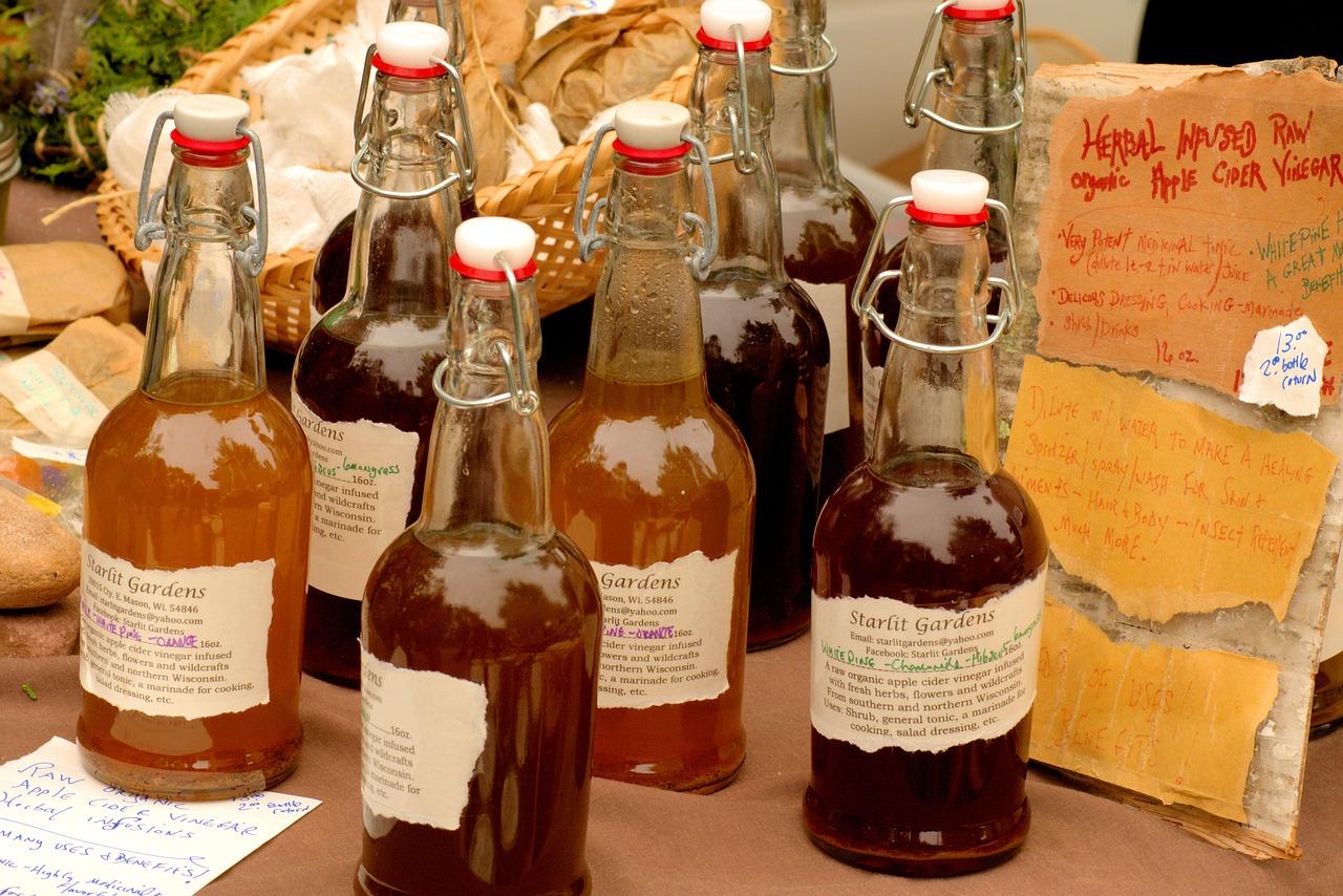 Uso tópico del vinagre de manzana