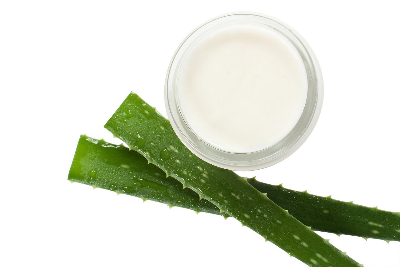 Crema antiarrugas con aloe vera
