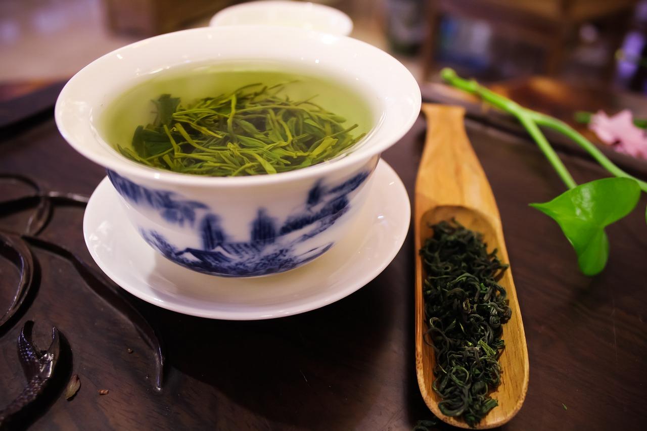 Hora de un poco de té verde