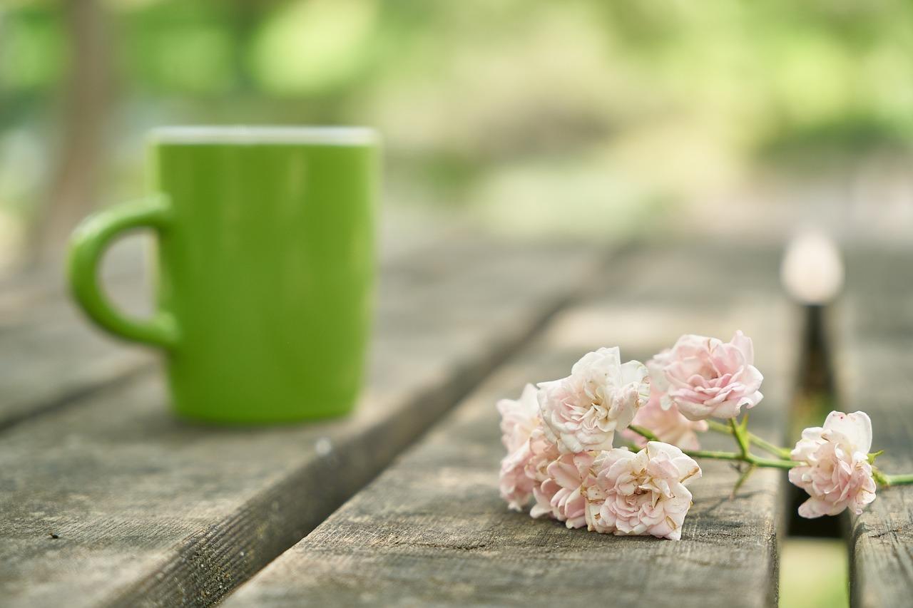 Tónico de agua de rosas y té verde
