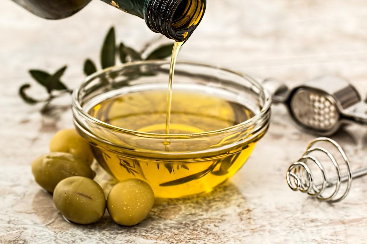 Algunos aceites naturales y otros ingredientes
