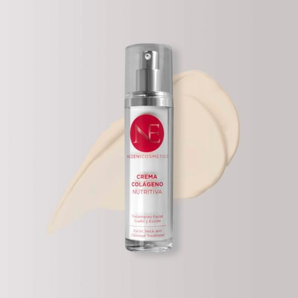 Crema Facial Hidratante con Colágeno de Nezeni Cosmetics