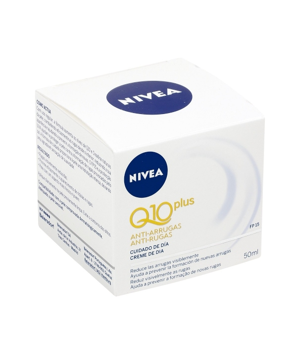 Análisis de la crema Nivea Q10 antiarrugas