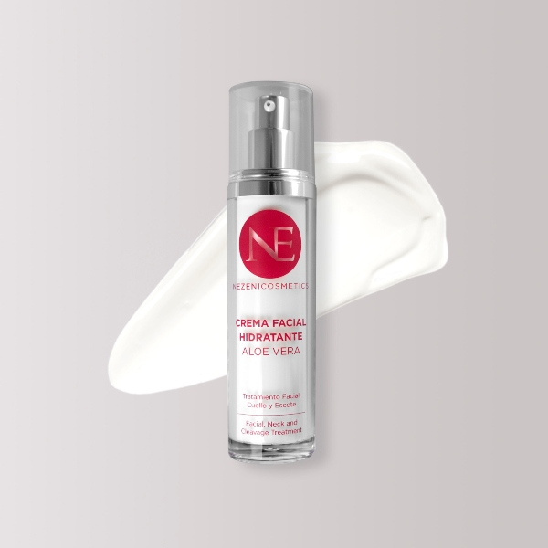Crema Facial Hidratante con Aloe Vera de Nezeni Cosmetics